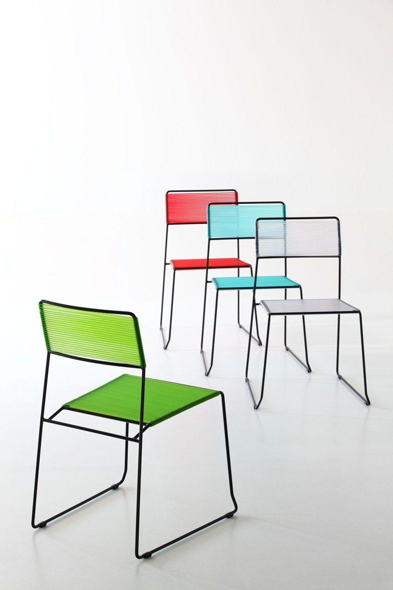 Log spaghetti chairs outdoor pinterest for Design stuhl range