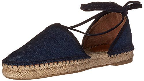 Best Flat Shoes | FRYE Womens Leo 2 Piece Ballet Flats Denim 9 M US *** To view further for this item, visit the image link. Note:It is Affiliate Link to Amazon. #summer
