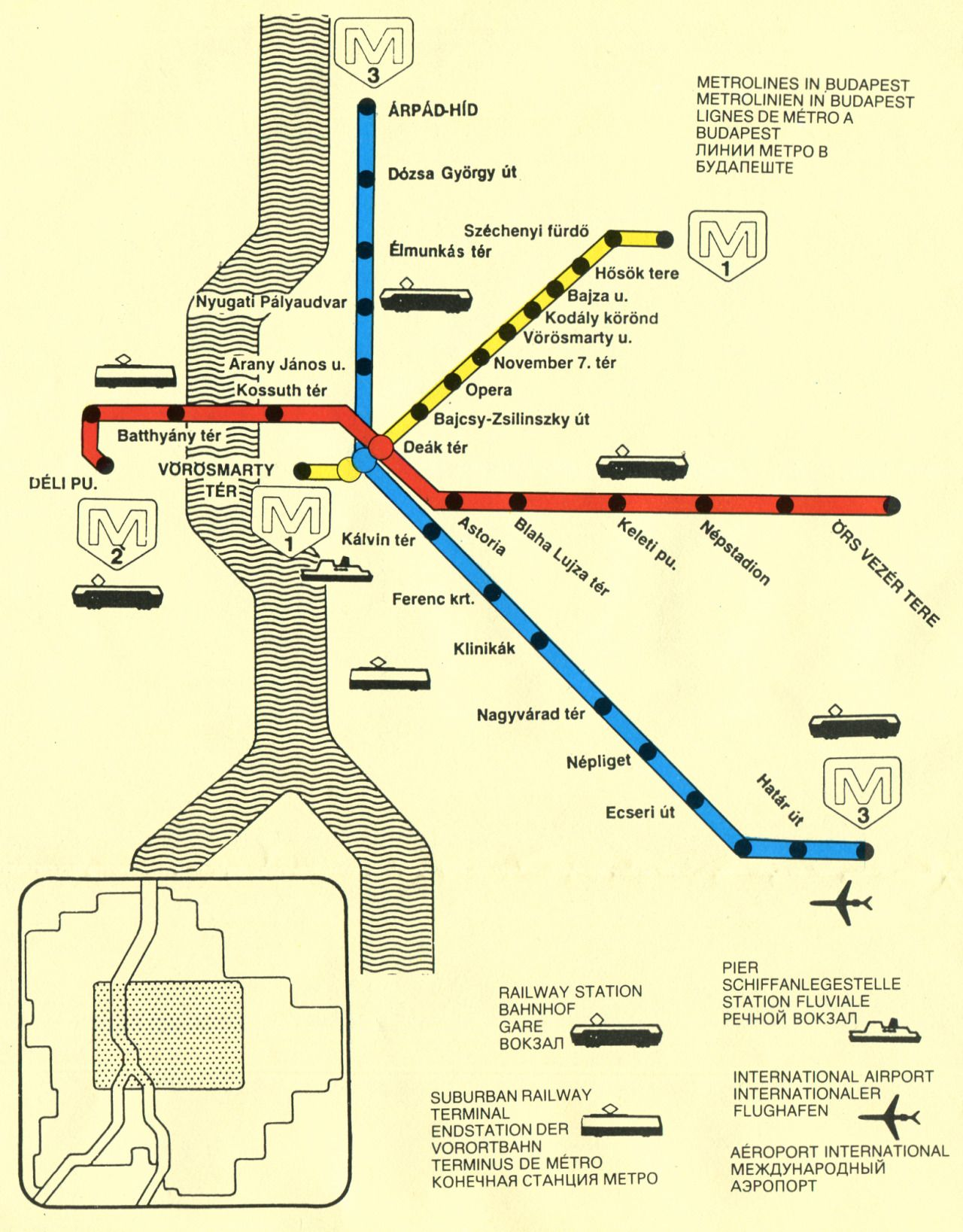 Sofia Subway Map.Historical Map Sofia Metro Bulgaria C 1980s Transit Maps