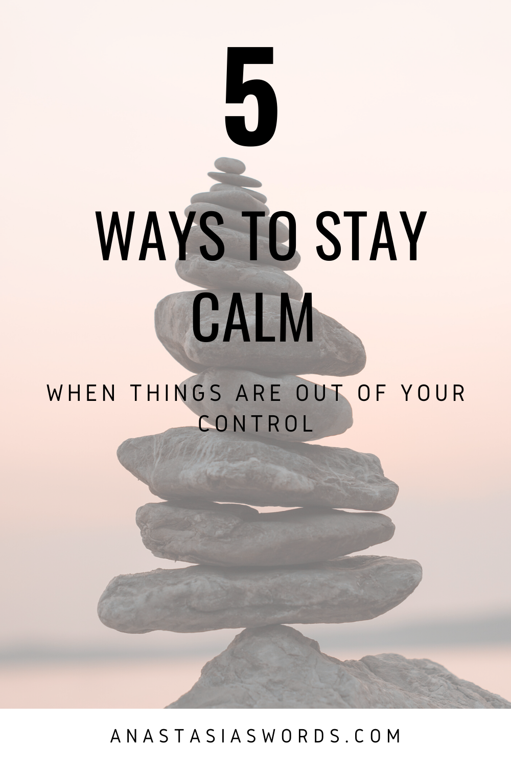 It is up to us how we handle a stressful situation. This blog has 5 tips to help you stay calm when there is a lot of chaos going on around you.  #staycalm #tips #nopanic #chaos