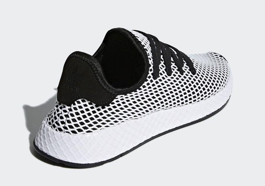 hot sale online a78ec 499fe adidas Deerupt CQ2626. adidas Deerupt CQ2626 Black White ...