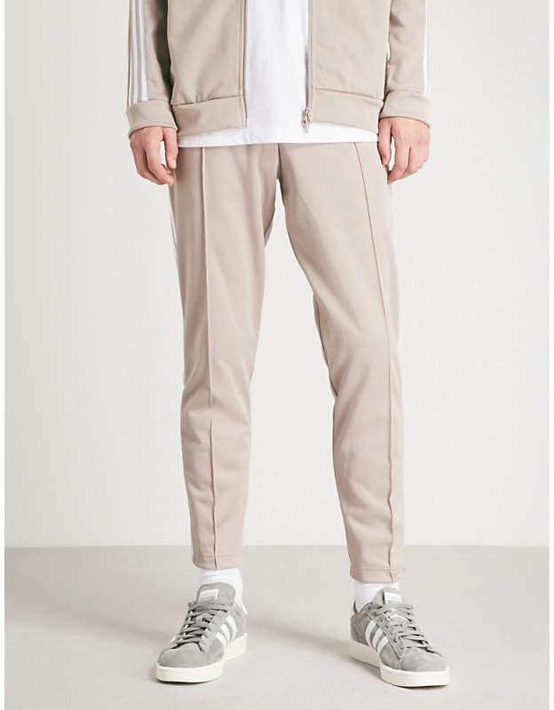 popular brand cheap sale recognized brands adidas Beckenbauer cotton-blend jogging bottoms | Jogging ...