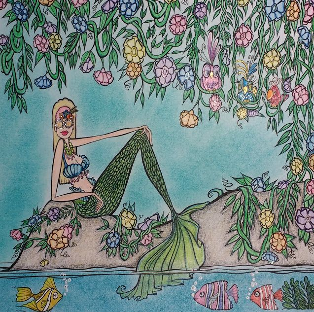 Zendoodle Coloring Presents Mermaids in Paradise: An Artist\'s ...