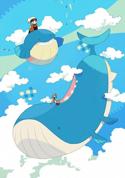 Wailmer, Wailord, Brendan, and May | Pokemon | Pinterest ... Wailord And Quagsire