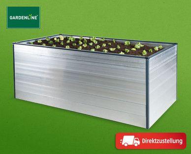 Gardenline Hochbeet Aluminium Gardenline Gartenwelt Hochbeet