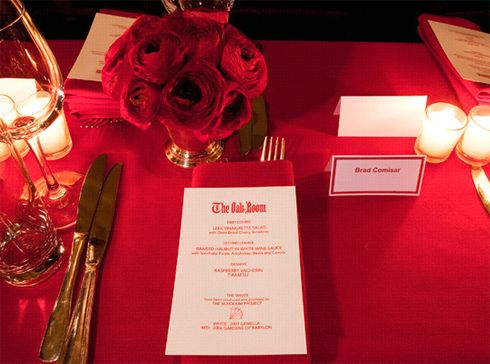 red table settings - Google Search | Marissa and Jonathan ...