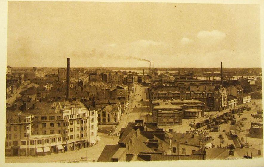 Helsinki Hakaniemi 1900 Luvun Alkua Helsinki