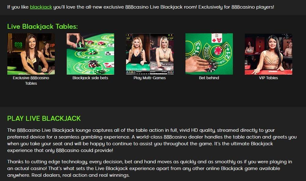 888 Online Casinos