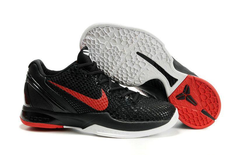 newest 76402 65201 Nike Zoom Kobe VI 436311 001 Black Red White