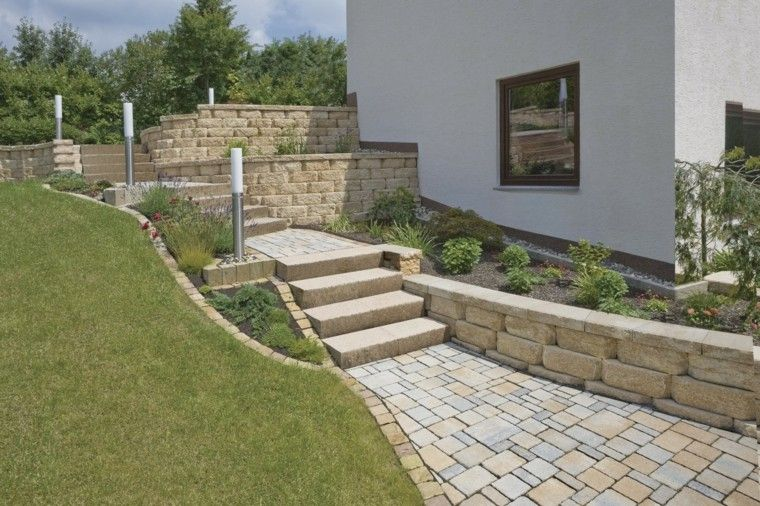 Muros En El Jardin 75 Ideas Que Te Encantaran Jardin Pinterest - Muros-jardin