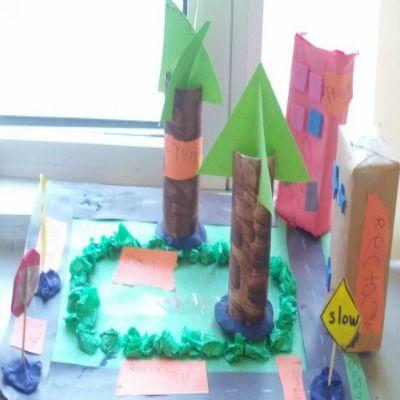 Kindergarten home projects