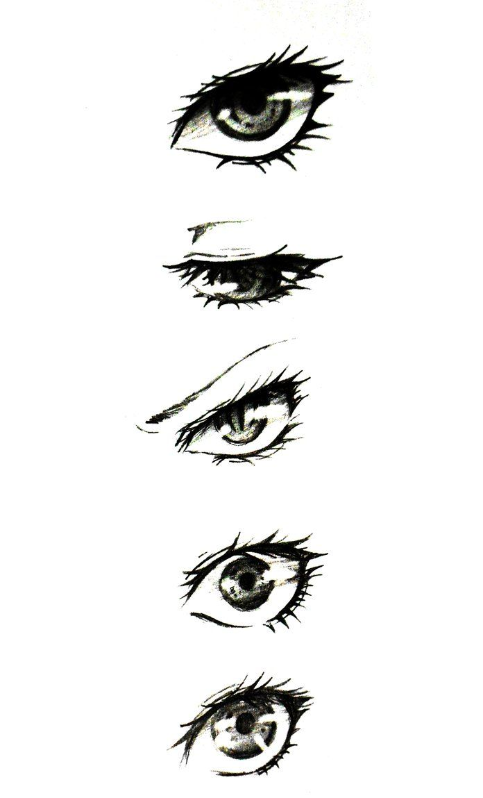 Semi-Realistic Eye Ref. by EvilPasta on DeviantArt