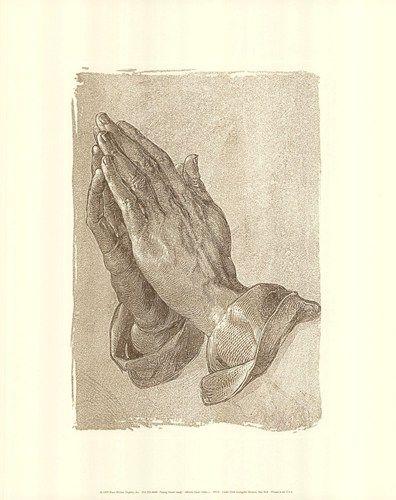 Art Print//Poster Albrecht Durer Praying Hands