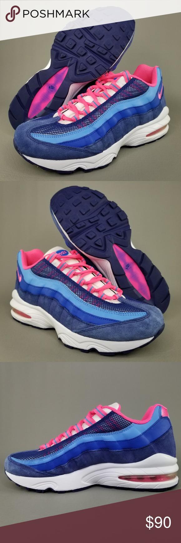 best website df9a0 7934e Nike Air Max 95 LE GS Athletic Shoes 7Y Womens 8.5 Nike Air Max 95 LE