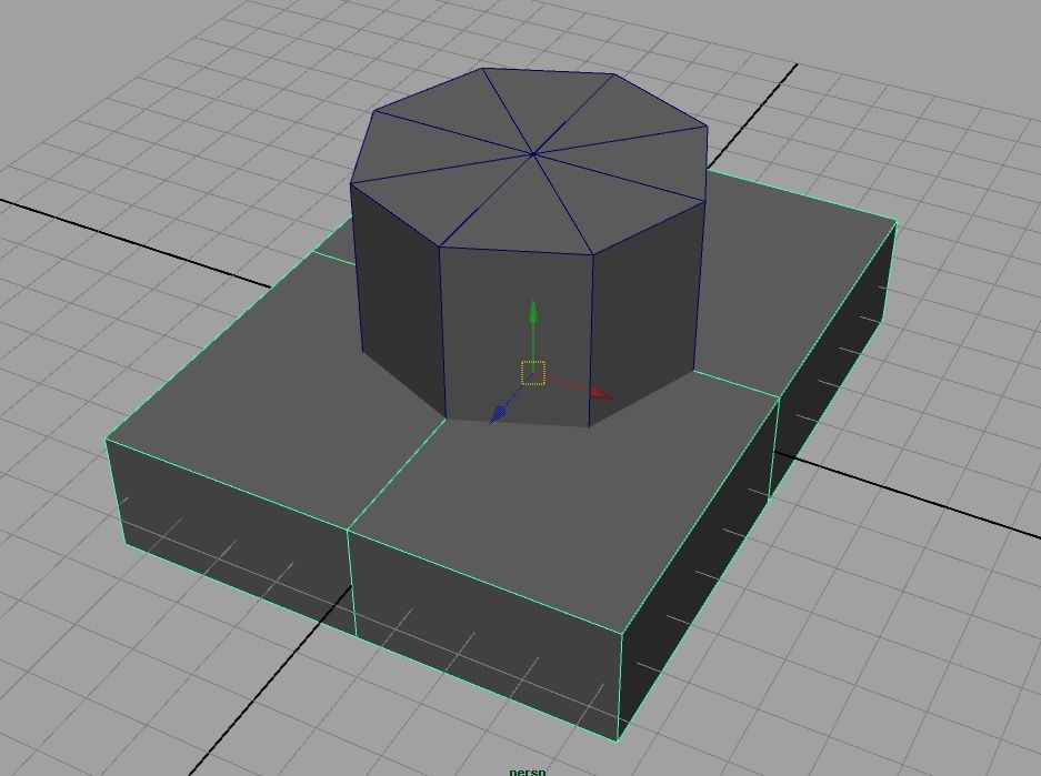 Combining two objects? Rounded corners? - Simply Maya User Community - Maya Tutorials