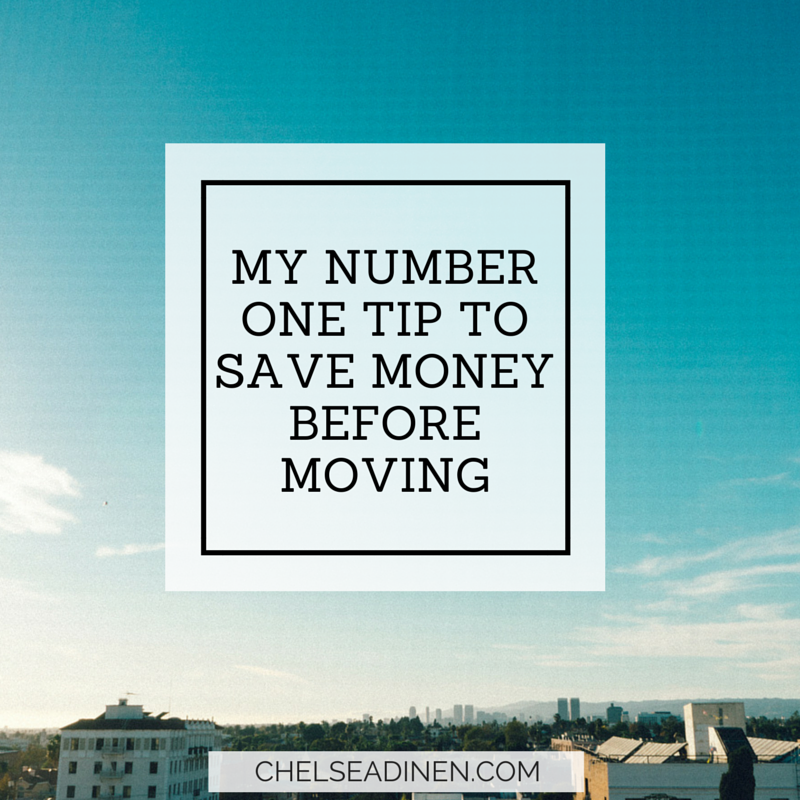 My Number One Tip to Save Money Before You Move | inspire ...
