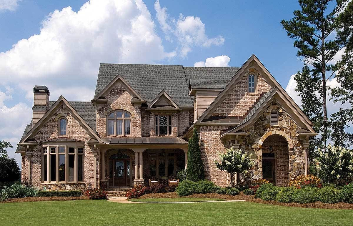 Charming French European House Plan French Country House Plans Country House Plans European House