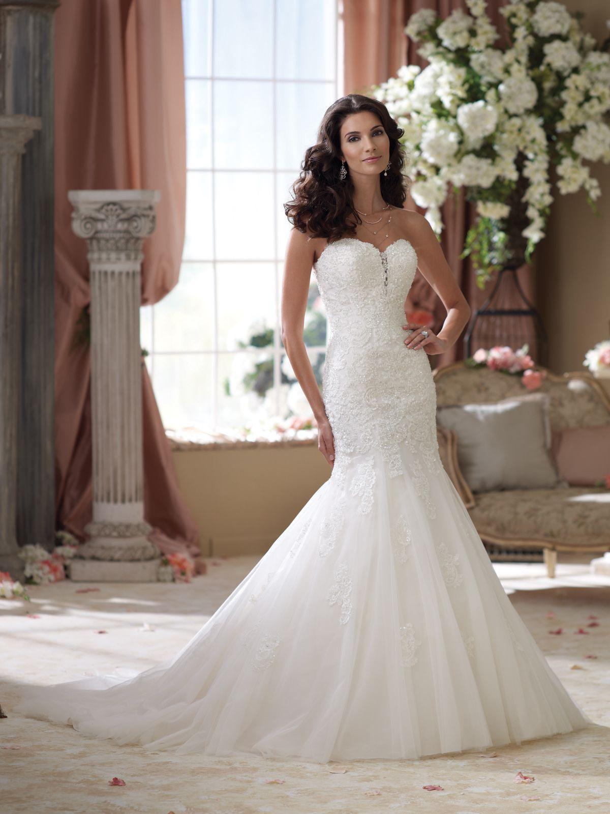 style no 114293 187 david tutera for mon cheri 187 wedding
