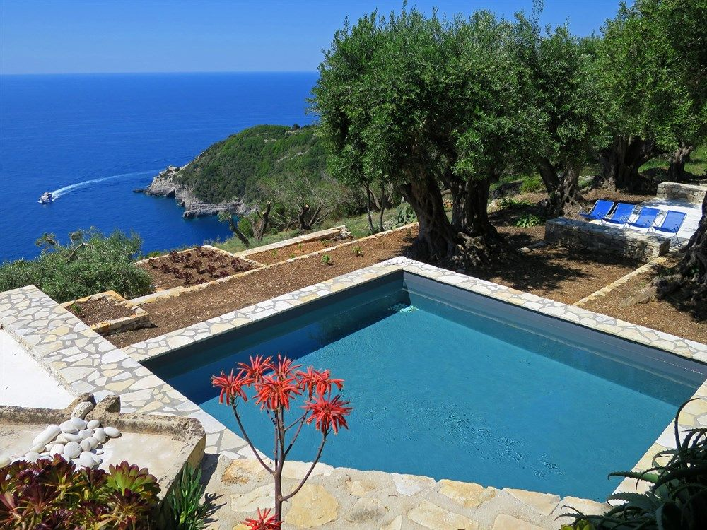 Zoe - villa with pool and stunning sea views on Paxos, the Ionian Islands, Greece