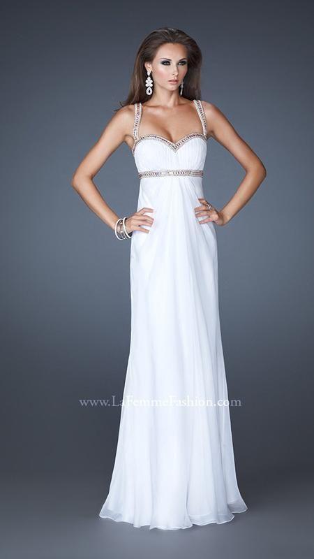 La Femme 18519   1920\'s Art Deco Great Gatsby wedding dress   My ...