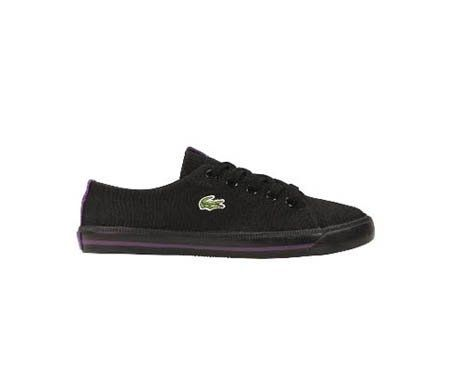 Lacoste Marcel INL SPI Toddler Shoes [7-21SPI4245024] Black/Purple baby-boys Shoes 7-21SPI4245024 Lacoste. $29.95