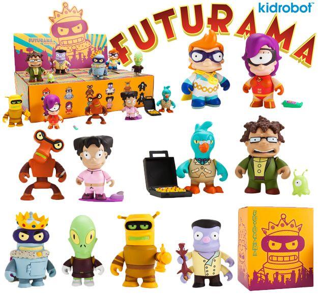 Kidrobot X Futurama Vinyl Toy Series 2