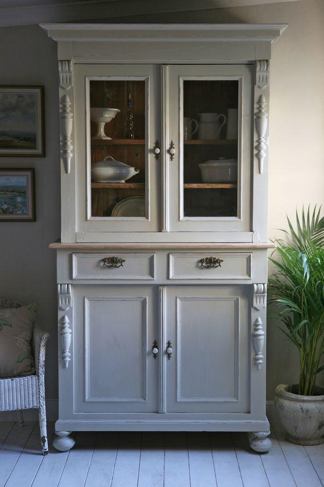 Pine Shabby Chic Glazed Dresser Painted