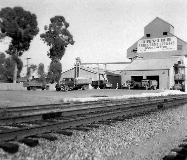 Irvine, bulk loading, August 1957 by Orange County Archives, via Flickr