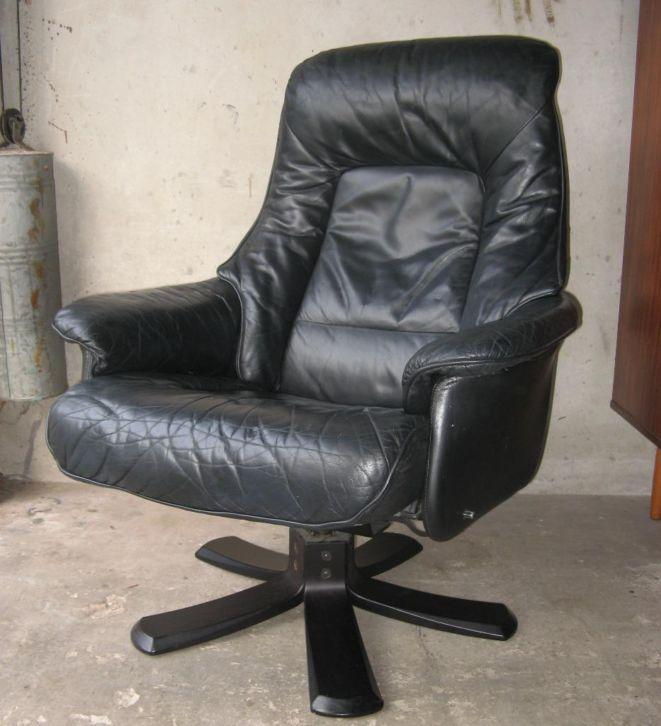 Mooie retro relax fauteuil deens design stoel vintage for Mooie design fauteuils