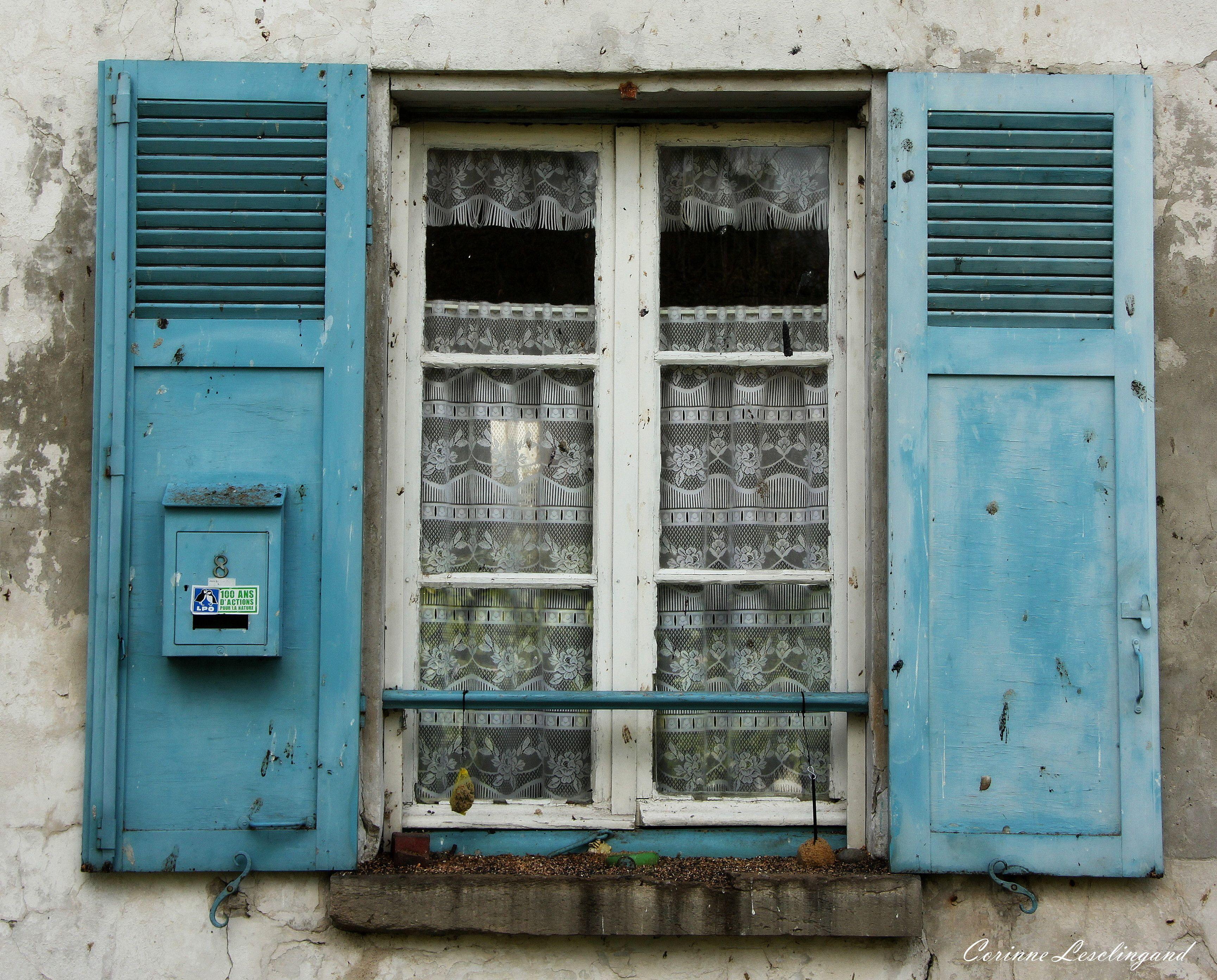 Une fenêtre romantique