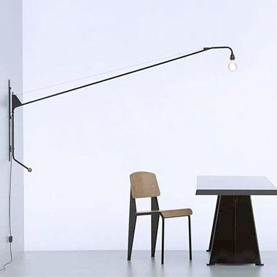 Vitra Potence Wall Lighting Share Design Home Interior Design Inspiration Prouve Potence Lamp Swing Arm Lamp Lamp