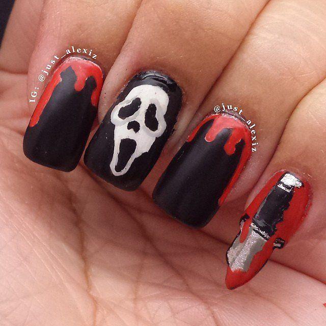 horror-movie manicures