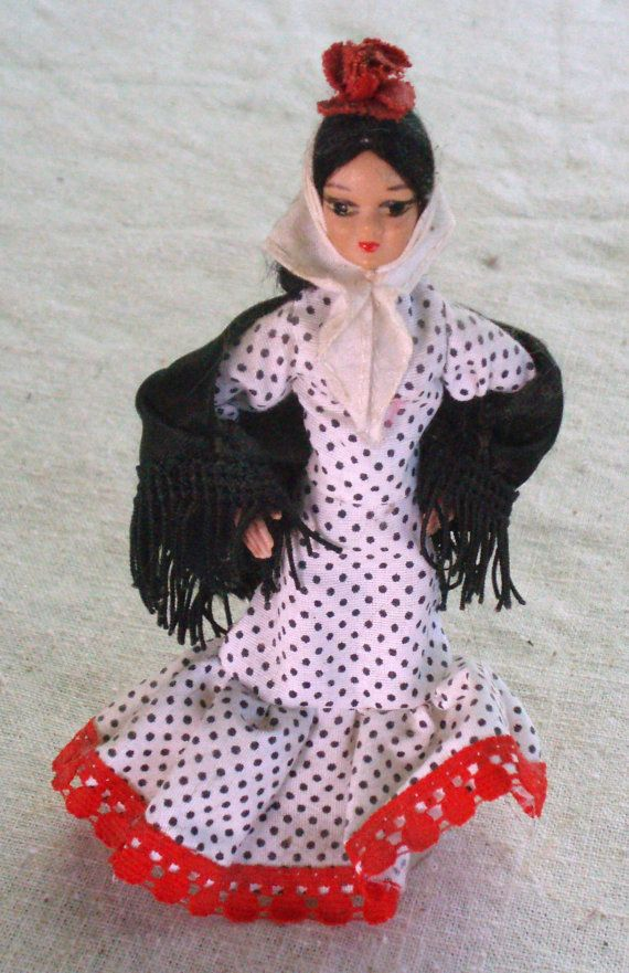 Vintage Spanish Doll #spanishdolls