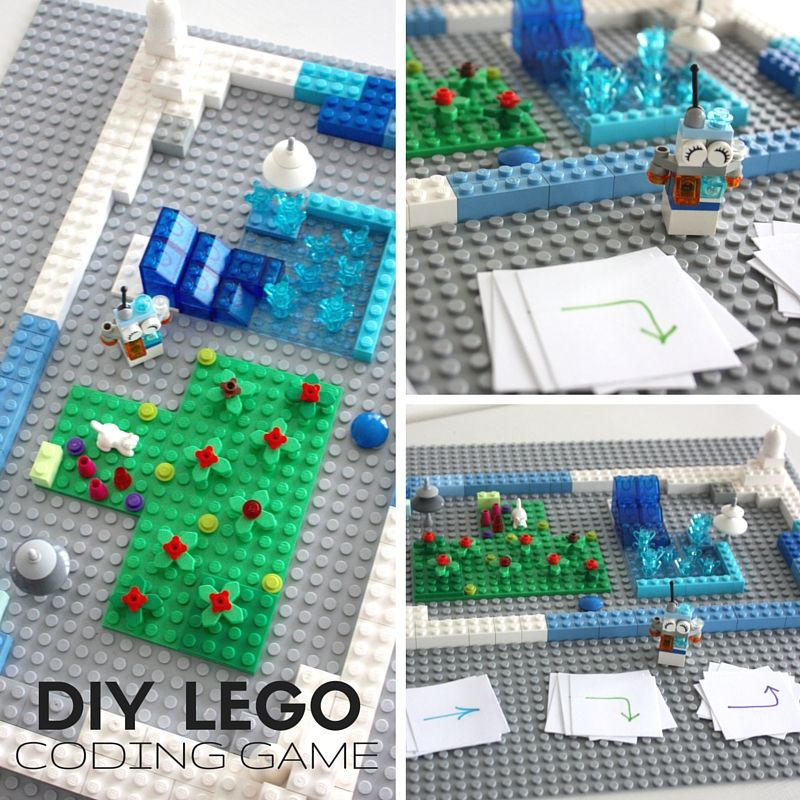 LEGO Computer Coding STEM Activities for Kids | Computer coding ...