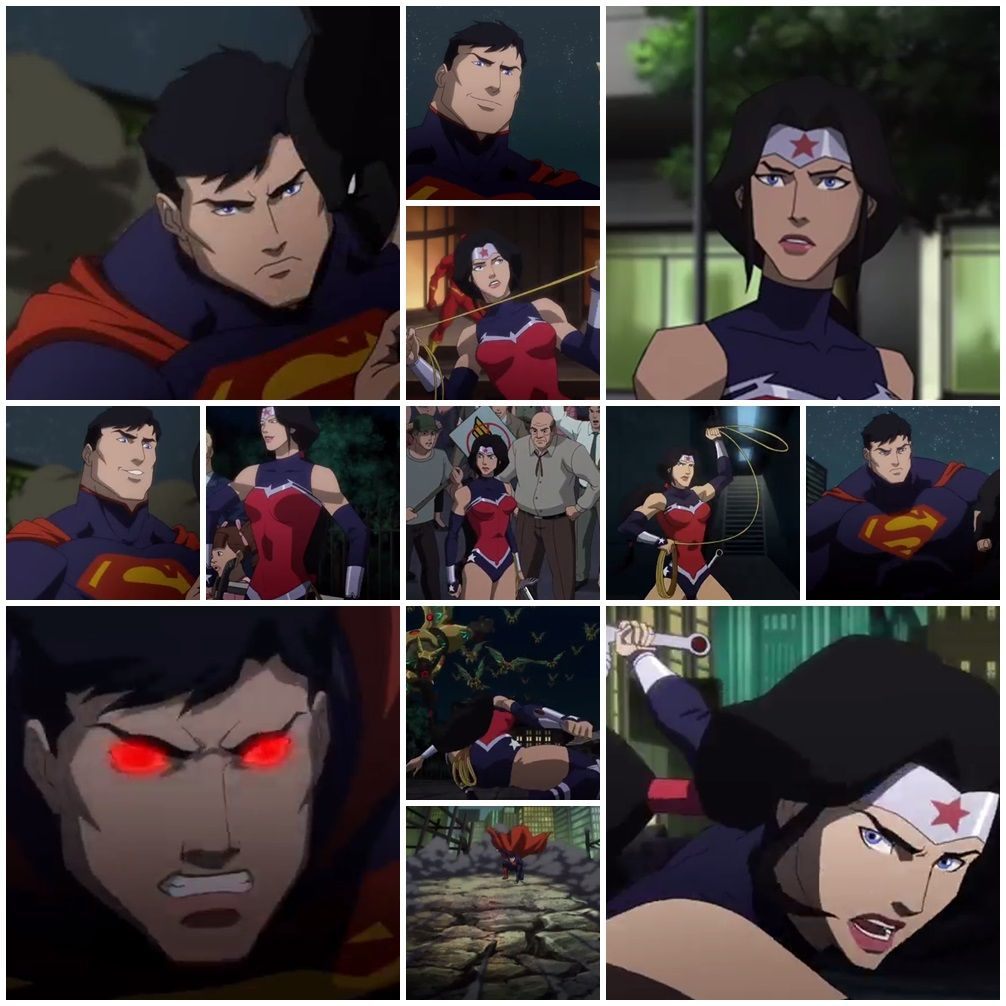 dc nation wonder woman justice league war animated movie ...