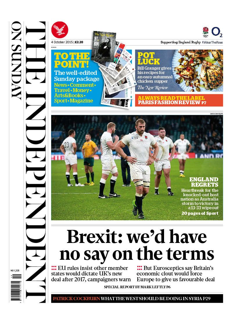 The Independent on Sunday (updated)