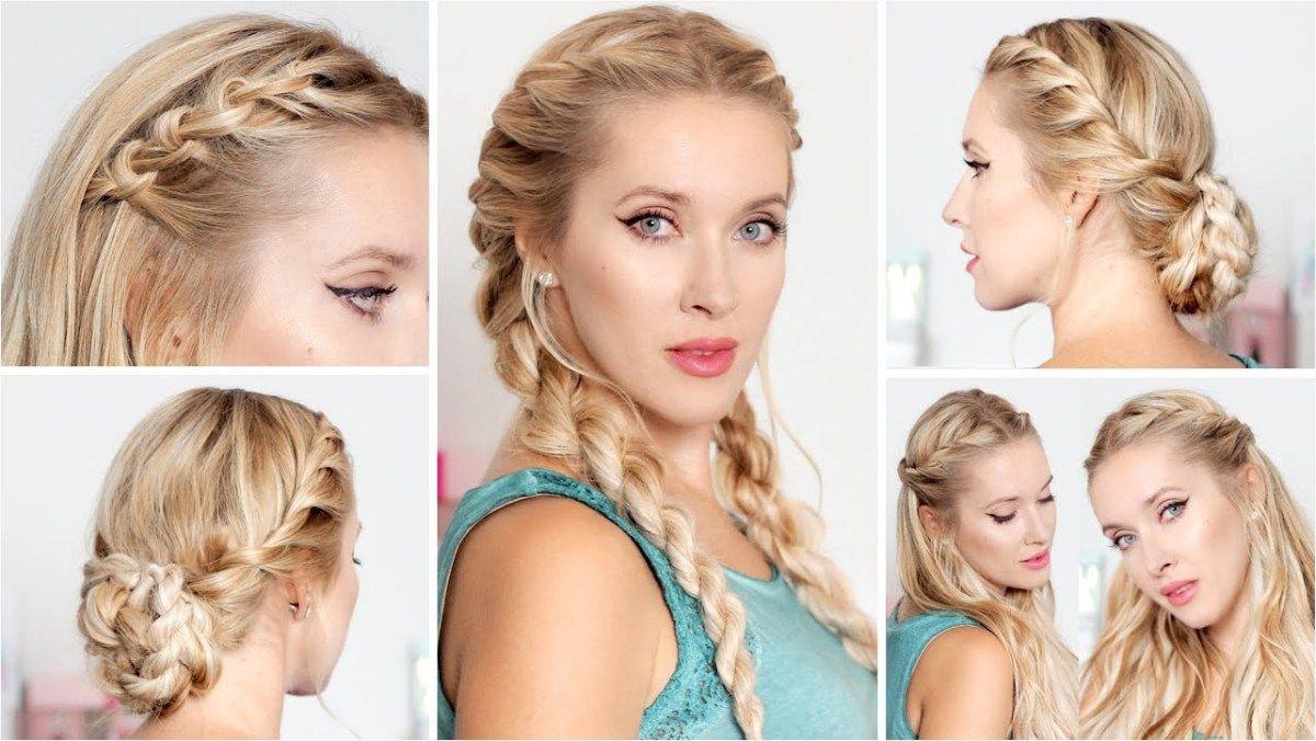 Cute easy hairstyles for school medium long hair frisuren für