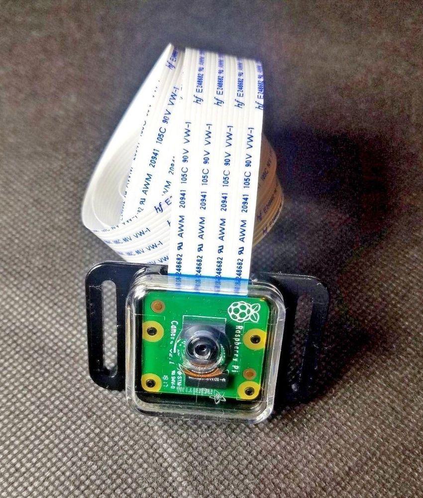 Raspberry Pi Camera V2 Module 8MP with Adafruit Case & 2ft flexible