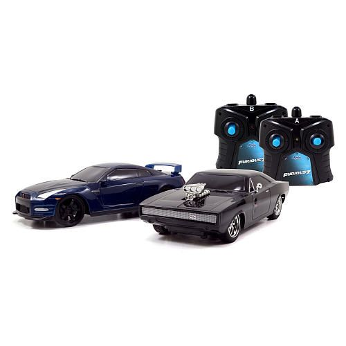 Jada Toys Fast & Furious Race & Chase Remote Control Twin Pack ... Twin Remote Control Cars on mo control cars, games cars, rc cars, manual cars, future technology cars, computer cars, hand controls for cars, power cars, keyless entry system for cars, robot cars, cool lowrider cars, best cars, dvd cars, superhero cars, radio cars, iphone control cars, unique romote control cars, aftermarket keyless remotes for cars, sound cars,