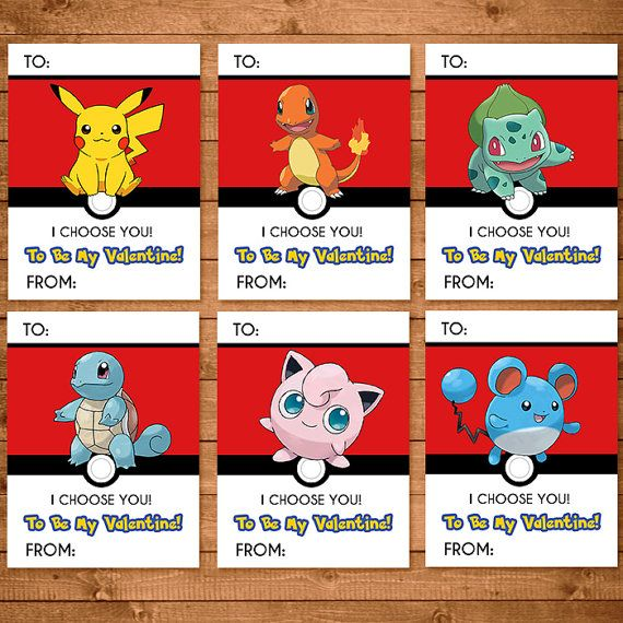 Pokemon Valentines Day Card Write In By Ninelivesnotenough