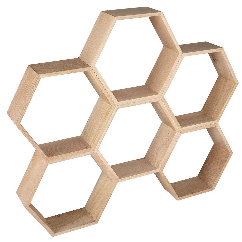 etag re nid d 39 abeille en ch ne maisons du monde. Black Bedroom Furniture Sets. Home Design Ideas