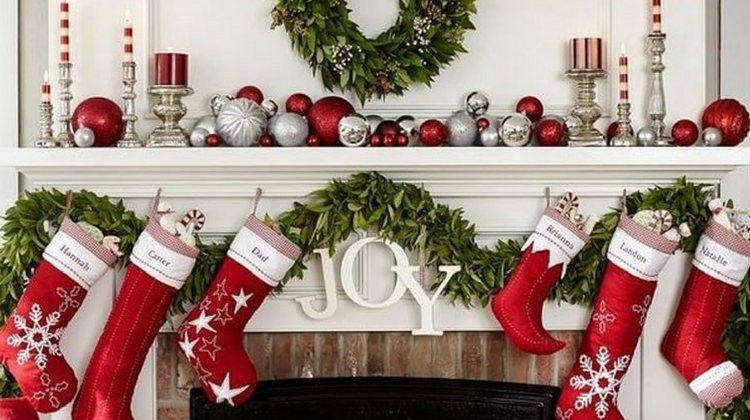 Mantel Decorating Ideas Christmas Mantel Decorations Christmas