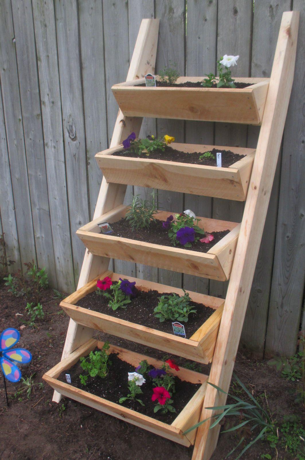 Ana White Herb Flower Ladder Diy Projects Diy 640 x 480