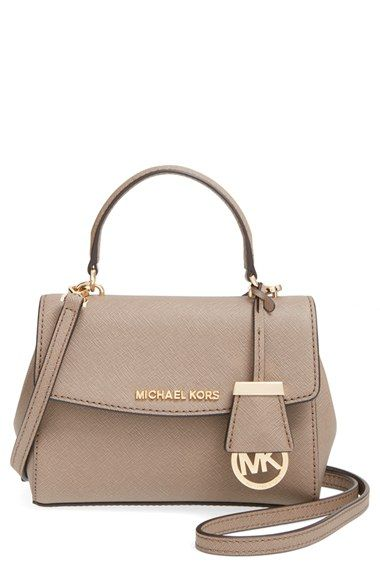 Michael Kors Extra Small Ava Leather Crossbody Bag Available At Nordstrom