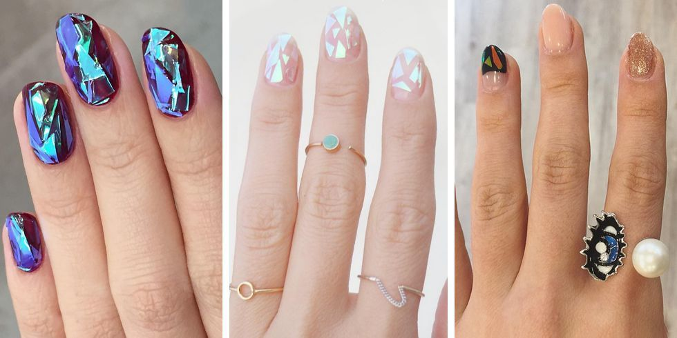 Glass Nails Are the Prettiest New Beauty Trend You\'re Probably Never ...