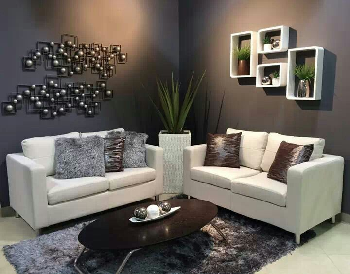 Sala moderna my home mi hogar pinterest living rooms for Decoracion hogar living