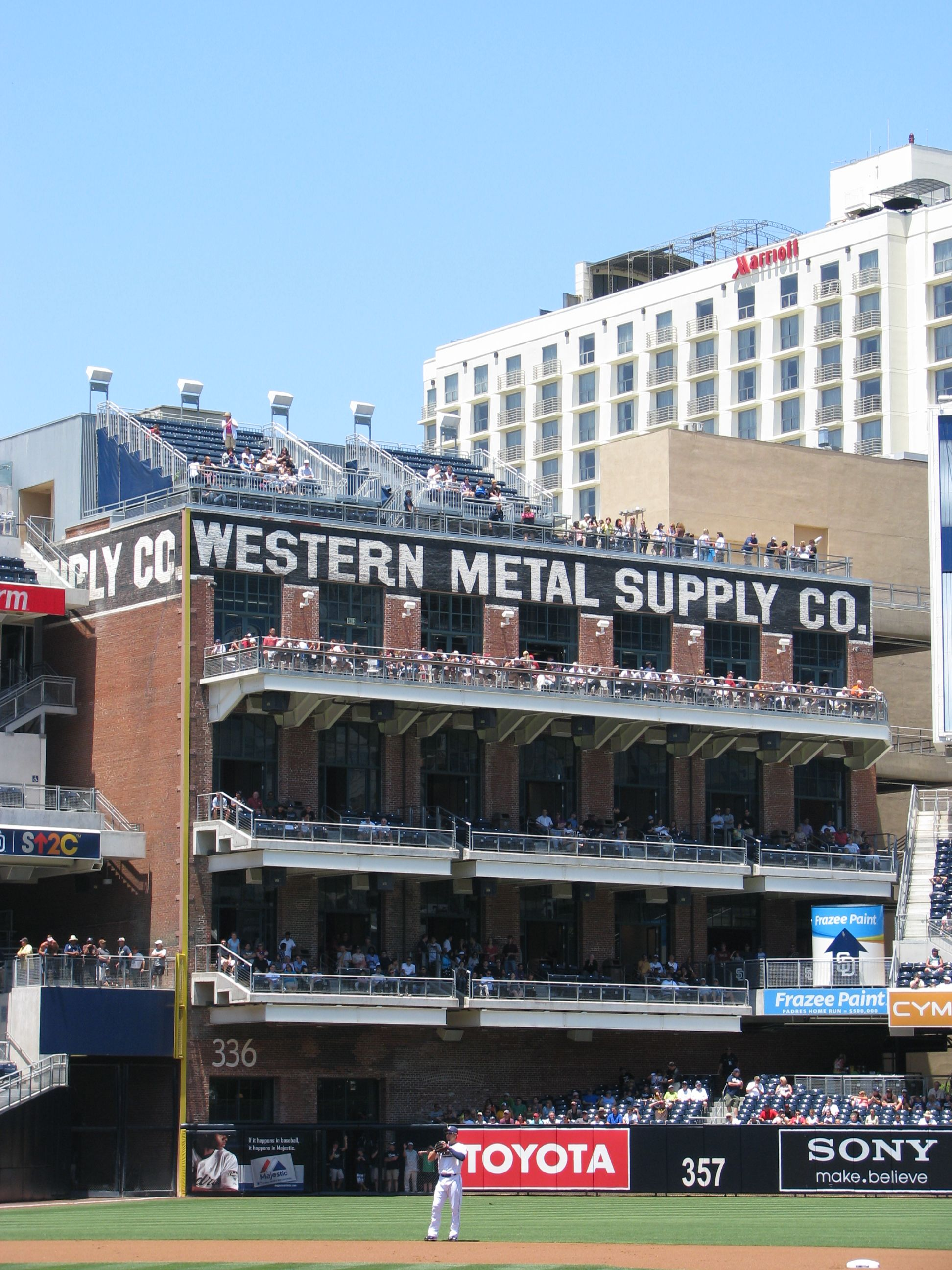 San Diego Padres Petco Park My Mom Worked At Western Metal When I Was A Little Kid My Family Were Big Padre Fans Mo Baseball Park Petco Park Mlb Stadiums
