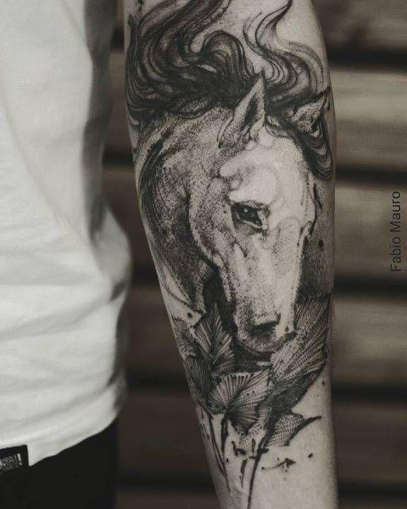 Sketch Work Horse Tattoo On The Left Inner Forearm Horse Tattoo Arm Tattoos Horse Animal Tattoos