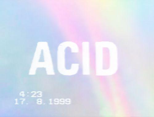 #pop #acid #design #typography