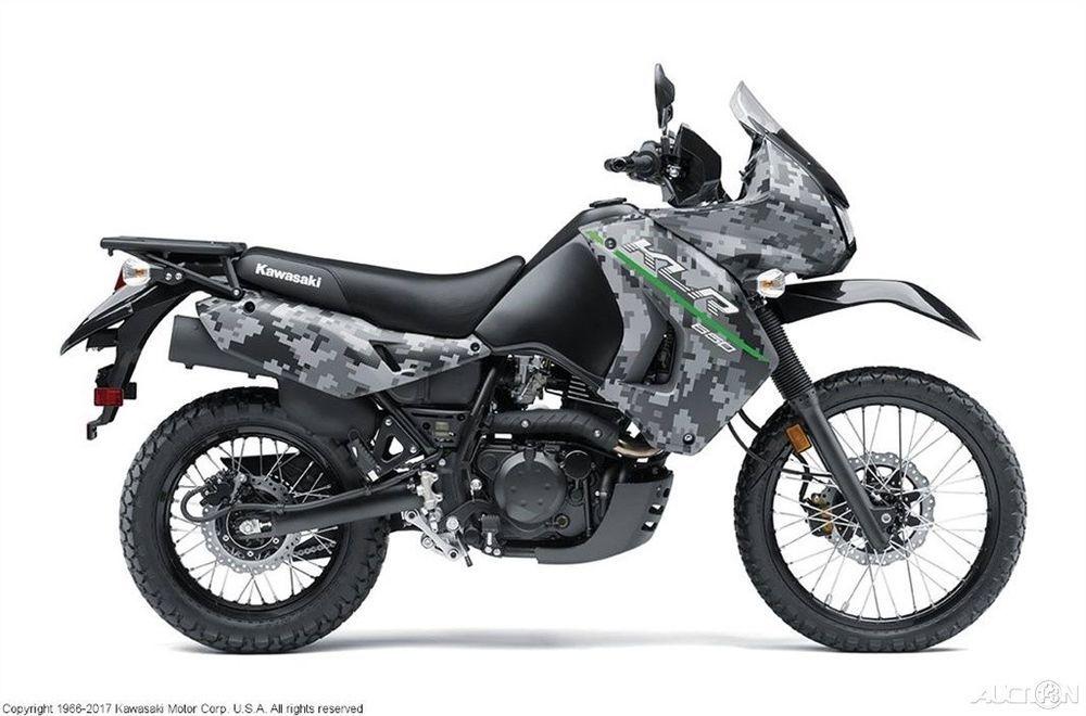 Kawasaki KLR650 Camo 2017 Kawasaki KLR650 Camo New (eBay